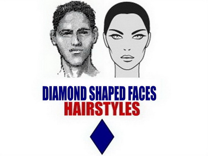 Hairstyles For Diamond Face